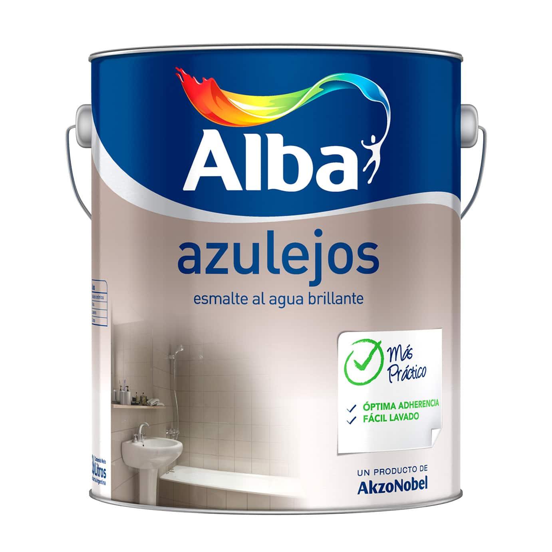Esmalte para azulejos alba 3 6 litros pinturerias sagitario - Esmaltes para azulejos ...